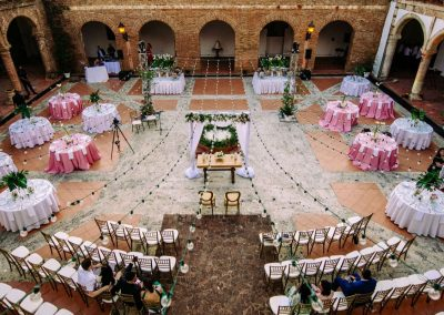 Wedding ceremony and reception set-up by Dominican Expert