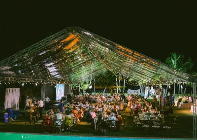 Private beachfront event by Dominican Expert