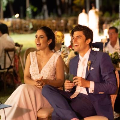Destination wedding of Amaya & Fellipe