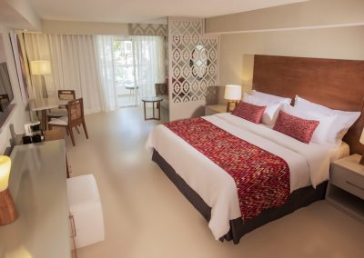 Adults Only Junior Suite at the all-inclusive hotel Emotions by Hodelpa Playa Dorada in Puerto Plata, Dominican Republic