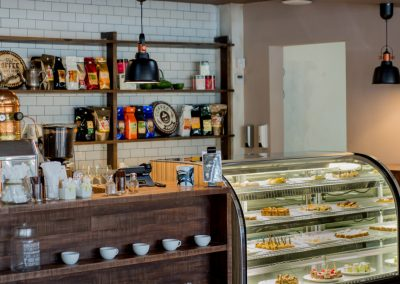 Coffee bar and snacks at the all-inclusive hotel Emotions by Hodelpa Playa Dorada in Puerto Plata, Dominican Republic