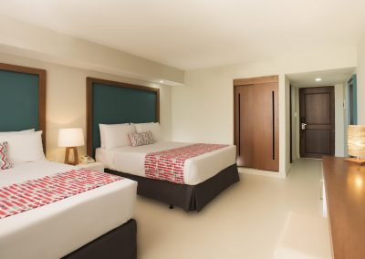 Superior Room at the all-inclusive hotel Emotions by Hodelpa Playa Dorada in Puerto Plata, Dominican Republic