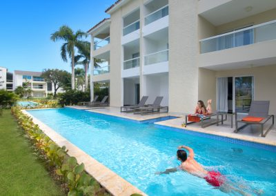 Swim Out Pool at the all-inclusive hotel Emotions by Hodelpa Playa Dorada in Puerto Plata, Dominican Republic
