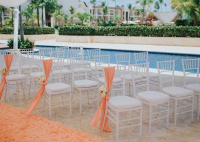Destination wedding ceremony in the Dominican Republic