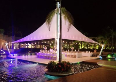 Destination wedding reception in the Caribbean - Grand Memories Punta Cana
