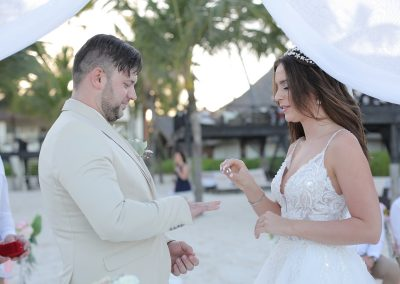 Beach Ceremony in Punta Cana