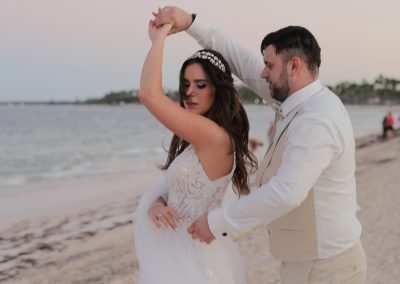 Wedding couple in Punta Cana