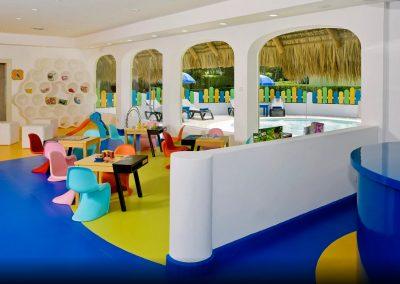 Kids club at the all inlusive hotel Iberostar Hacienda Dominicus in Bayahibe, Dominican Republic