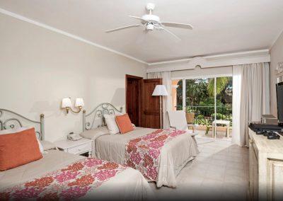 Double Room at the all inlusive hotel Iberostar Hacienda Dominicus in Bayahibe, Dominican Republic
