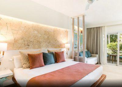 Suite at the all inlusive hotel Iberostar Hacienda Dominicus in Bayahibe, Dominican Republic