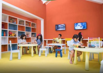 Kids cllub at the all-inclusive hotel Emotions by Hodelpa Playa Dorada in Puerto Plata, Dominican Republic