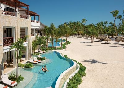 Panorama Swimout Suites at the all-inclusive hotel Secrets Cap Cana in Punta Cana, Dominican Republic