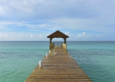Pier at the all-inclusive hotel Iberostar Hacienda Dominicus in Bayahibe