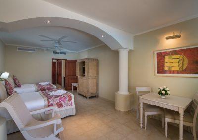 Junior Suite at the all-inclusive hotel Iberostar Hacienda Dominicus in Bayahibe