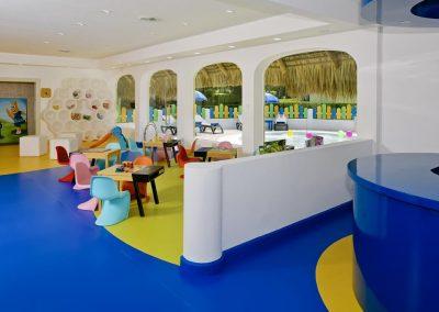 Kids Club at the all-inclusive hotel Iberostar Hacienda Dominicus in Bayahibe