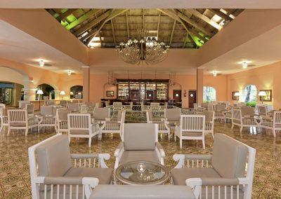 Lobby Bar at the all-inclusive hotel Iberostar Hacienda Dominicus in Bayahibe