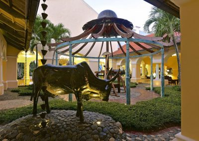 Lobby Hall at the all-inclusive hotel Iberostar Hacienda Dominicus in Bayahibe
