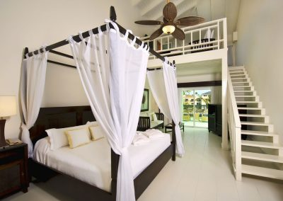 Honeymoon Suite at the all inlusive hotel Ocean Blue and Sand iin Punta Cana, Dominican Republic