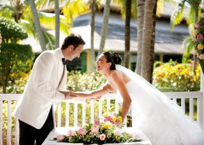 Destination wedding ceremony in the Caribbean - Iberostar Hacienda Dominicus, Bayahibe