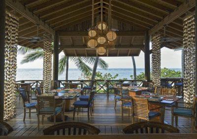 Beachfront restaurant in Las Terrenas