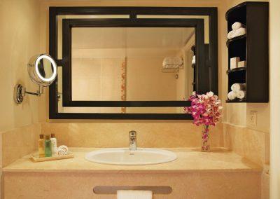Bathroom at the all inclusive hotel Dreams Punta Cana in the Dominican Republic