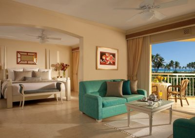 Honeymoon Suite at the all inclusive hotel Dreams Punta Cana in the Dominican Republic