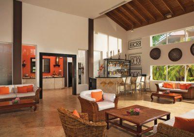 Preferred Club Lounge at the all inclusive hotel Dreams Punta Cana in the Dominican Republic