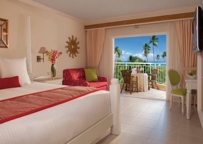 Tropical View Room at the all inclusive hotel Dreams Punta Cana in the Dominican Republic