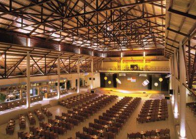 Theatre at the all inclusive hotel Dreams Punta Cana in the Dominican Republic