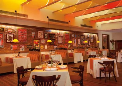 Grill Restaurant at the all inclusive hotel Now Larimar in Punta Cana, Dominican Republic