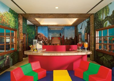 Explorers Clb for kids at the all inclusive hotel Now Larimar in Punta Cana, Dominican Republic