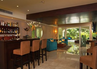 Preferred Club Lounge at the all inclusive hotel Now Larimar in Punta Cana, Dominican Republic