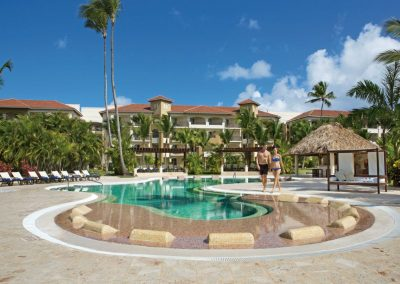 Preferred Club Pool at the all inclusive hotel Now Larimar in Punta Cana, Dominican Republic