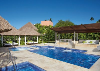 Spa Circuit at the all inclusive hotel Now Larimar in Punta Cana, Dominican Republic