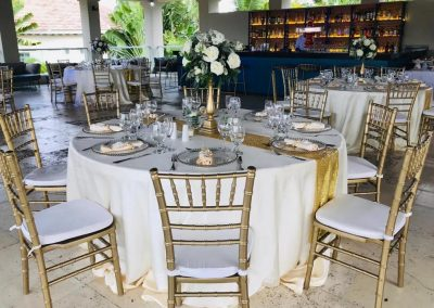 Wedding reception at the all inclusive hotel Now Larimar in Punta Cana, Dominican Republic