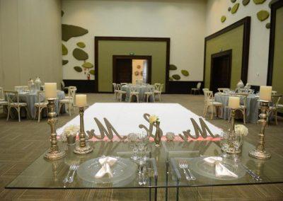 Ballroom reception at the all inclusive hotel Now Larimar in Punta Cana, Dominican Republic