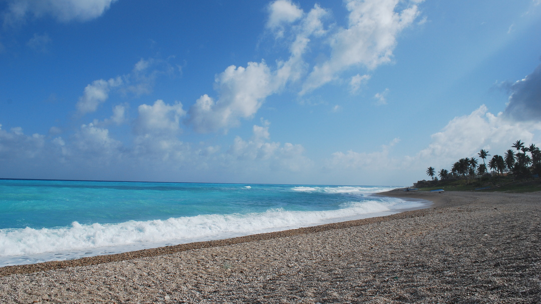 Beach in Barahona, Dominican Republic