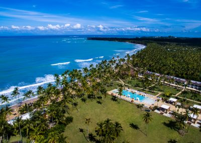 Aerial view of the all-inclusive hotel Viva Wyndham V Samana (Adults Only) in Las Terrenas, Dominican Republic