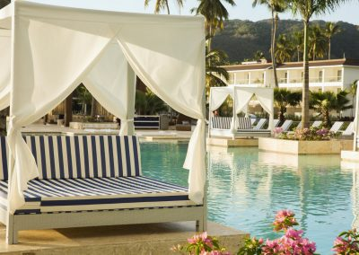 Bali beds at the all-inclusive hotel Viva Wyndham V Samana (Adults Only) in Las Terrenas, Dominican Republic
