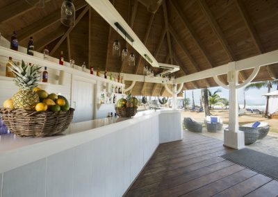 Beach bar at the all-inclusive hotel Viva Wyndham V Samana (Adults Only) in Las Terrenas, Dominican Republic