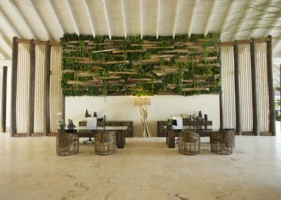 Lobby at the all-inclusive hotel Viva Wyndham V Samana (Adults Only) in Las Terrenas, Dominican Republic