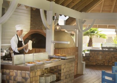 Snack restaurant at the all-inclusive hotel Viva Wyndham V Samana (Adults Only) in Las Terrenas, Dominican Republic